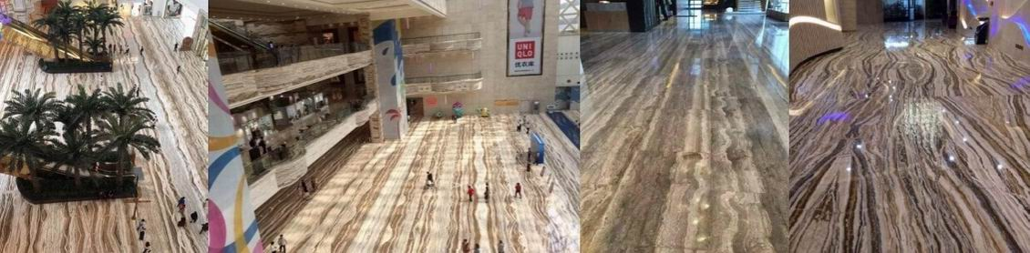 Travertine Shopping Mall Project