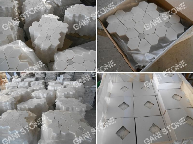 Dolomite Marble Mosaic Packing