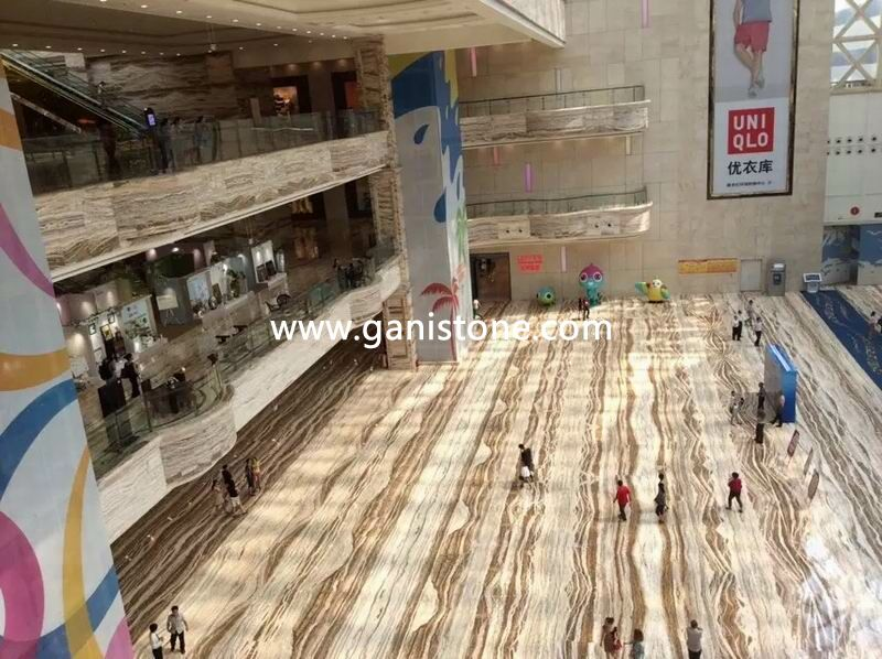 Traonyx Shopping Mall Floor Project