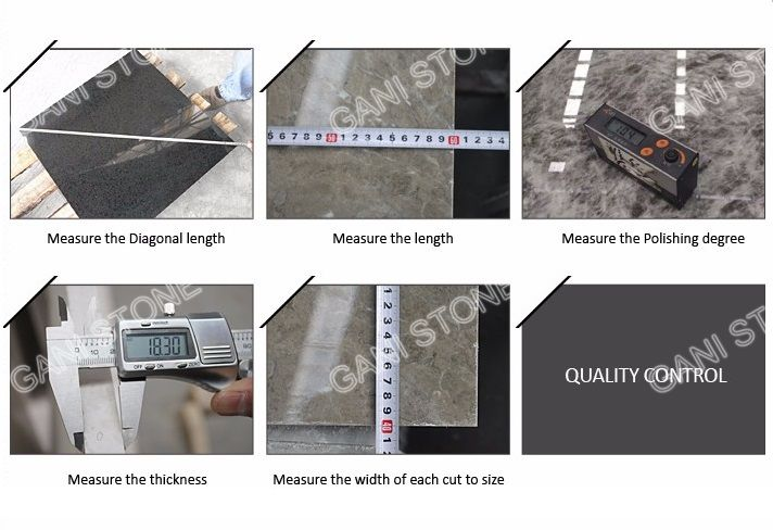 Cut to Size Stone Tiles Quality Control