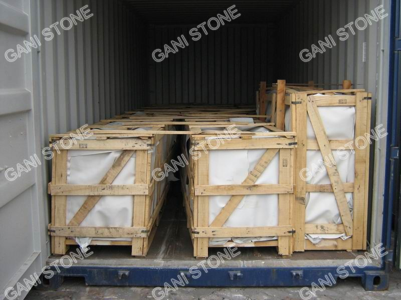 Granite Kitchen Countertops Container Loading
