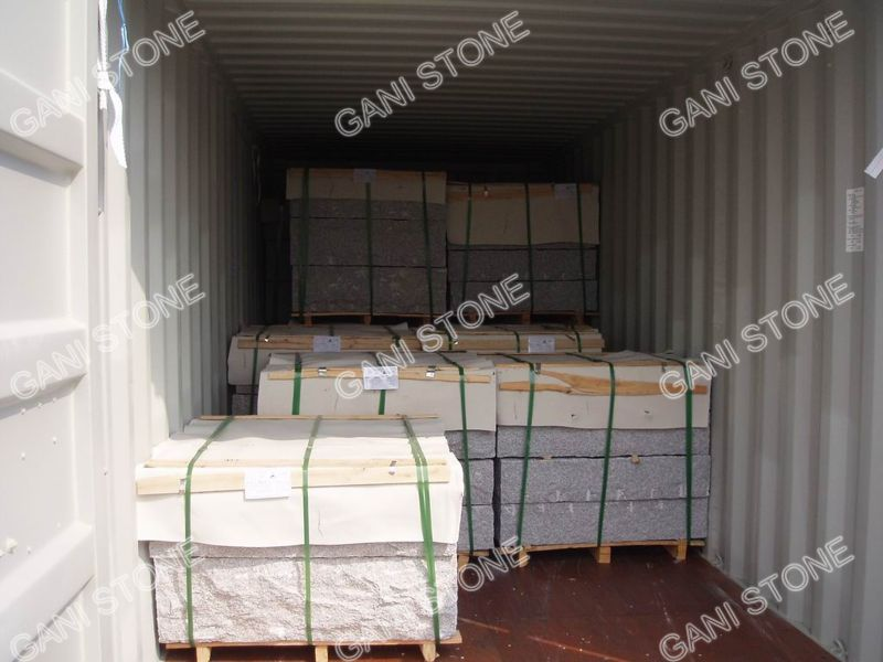 Granite Wallstone Container Loading
