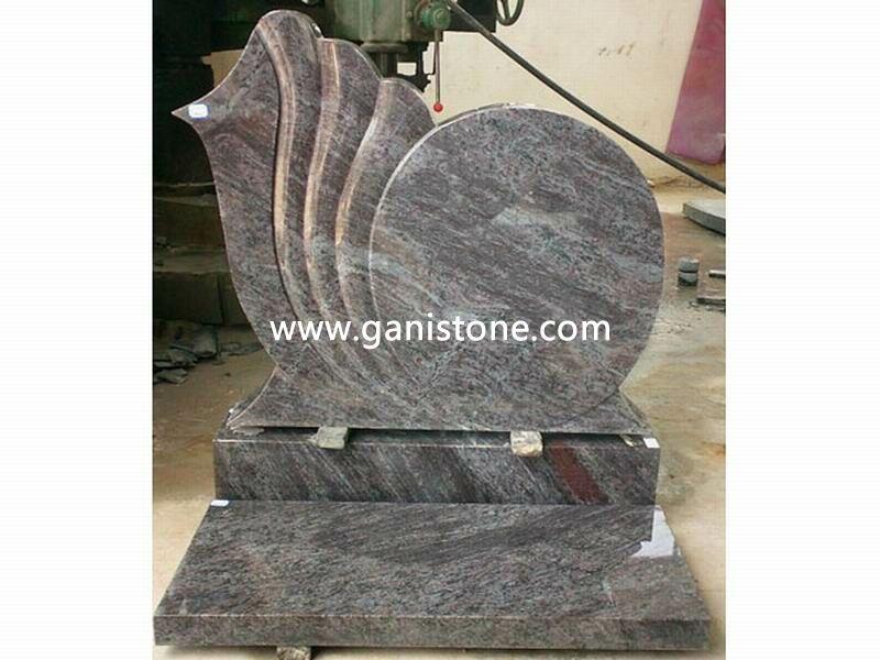Poland Granite Tombstone 021