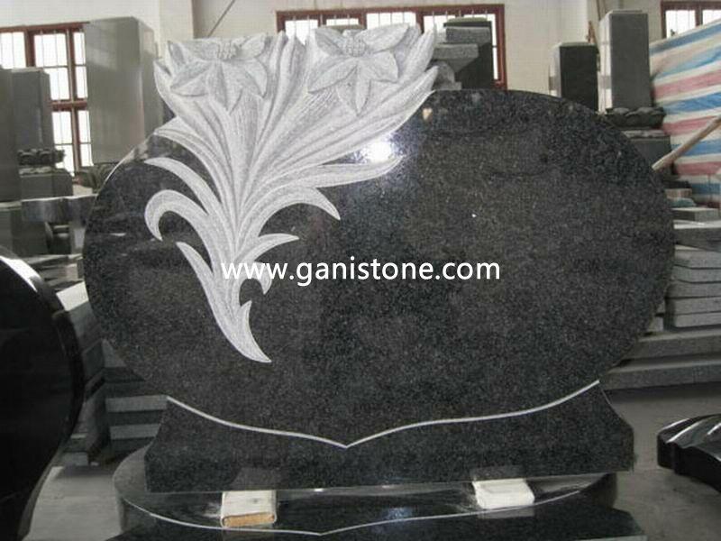 Poland Granite Tombstone 006