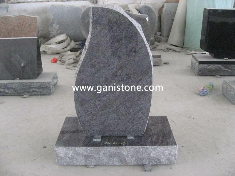 Bahama Blue Granite Headstones 003
